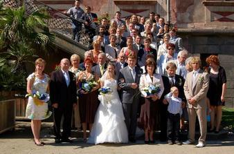 Trošku malá svatba
