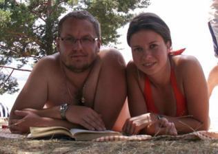 Jakub a Jarča - tak to jsme MY - foto z dovolené na Slovensku (v případě zájmu mošleme malou prezentaci z naší dovolené)