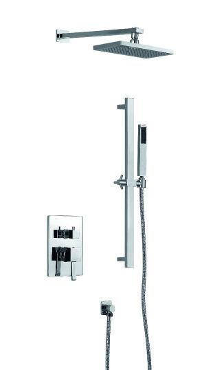 Podomítkové sprchy - Chromové podomítkové sprchy