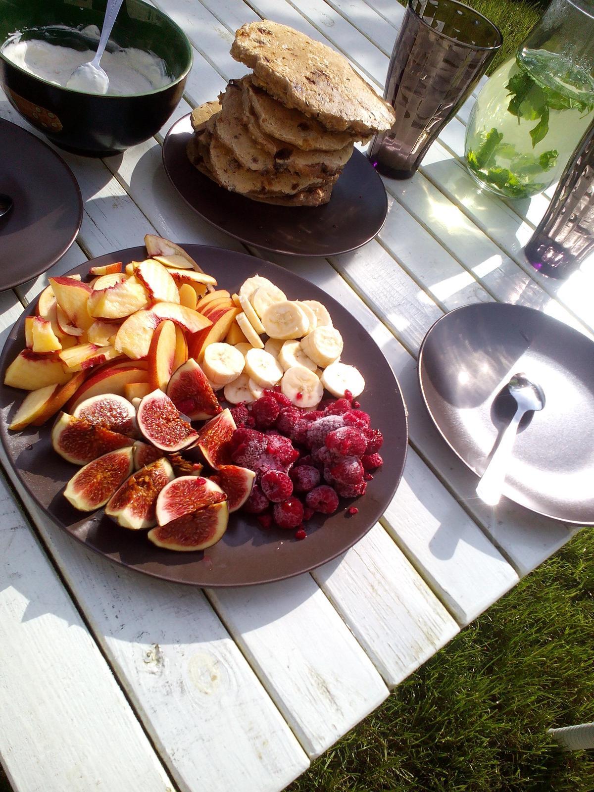 Domeček - podzimní snídaně