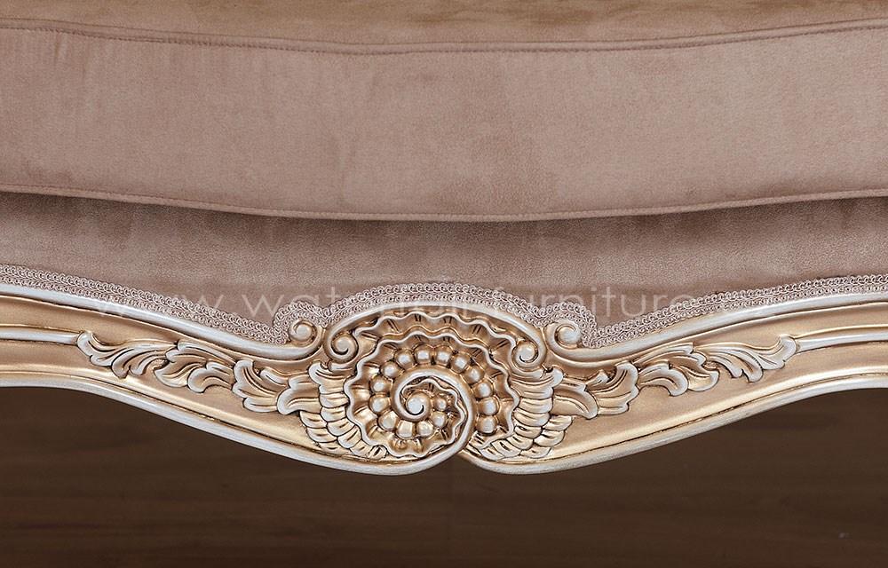 Malé retro hnědé sofa - Obrázek č. 3