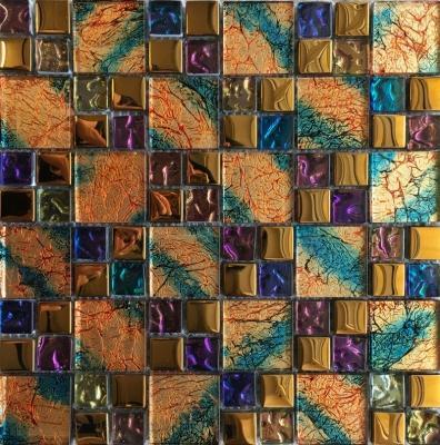 Zlatá mozaika Multicolor - Obrázek č. 1
