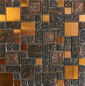 Antická mozaika Rose Gold,