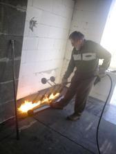 16.3.2012 dokoncujeme izolacie- obyvacka a chodba