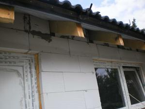 2.6.2012 domurované aj na garáži