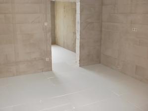 30.6.2012 polystyrén dokončený- pohľad do spálne