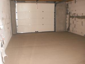 20.7.2012 vyskúšali sme aj pochôdznosť anhydridu v garáži po 23 hodinách (potrebovali sme ešte 3 balíky vlny)