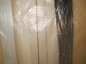 21.7.2012 prekrytie- zdvojené s obojstrannou páskou a na konci s hliníkovou- na niektorých miestach aj viac krát