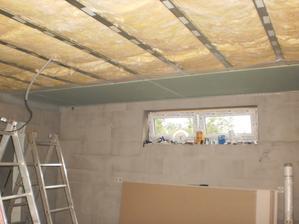 21.7.2012 nad kuchyňou a z časti aj pri krbe bude zelený- nenasiakavý SDK