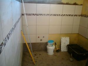 1.8.2012 doložený ďalší rad v kúpeľni