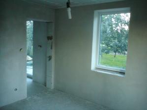10.8.2012 detská izba - omietky hotové