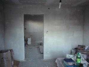 10.8.2012 spálňa - omietky hotové