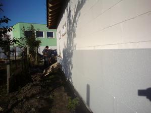 6.10.2012 posledná stena- dookola sme robili preto, aby som mohol pokračovať cez týždeň sám
