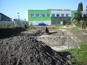 posledna etapa vyhadzovania zeminy