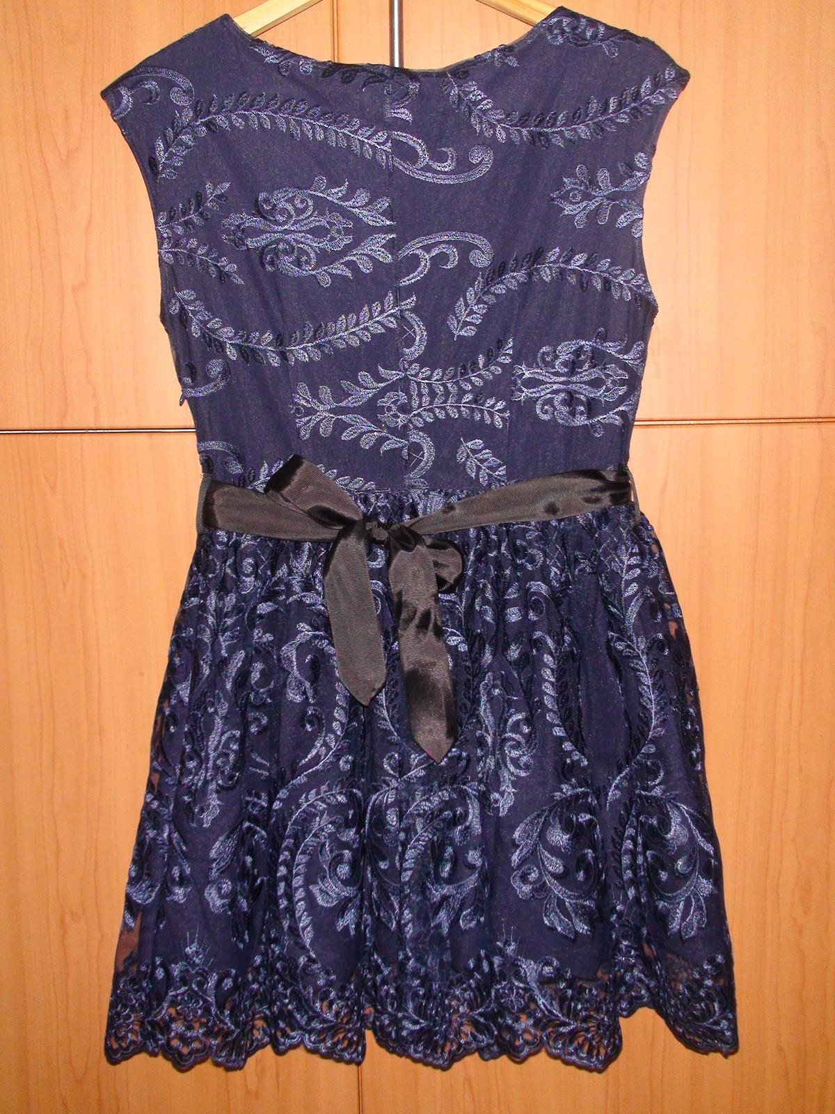 Čipkované spoločenské šaty - Obrázok č. 2