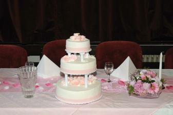 Druhý svatební dort