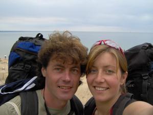 Tak to jsme my...:) Pavel&Olga letos v Bulharsku