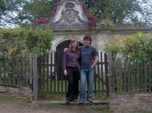 a tady na našem oblíbeném místě hradu Pernštejnu