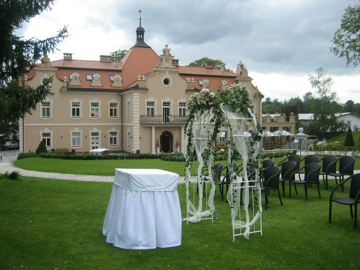 Co už máme a inspirace aneb mořská svatba - Tady bude obřad - zámek Berchtold