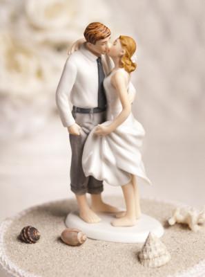 Co už máme a inspirace aneb mořská svatba - figurka na dort