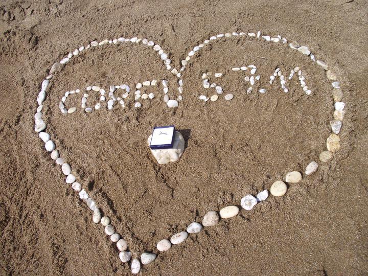 Co už máme a inspirace aneb mořská svatba - Datum a místo zásnub :-)