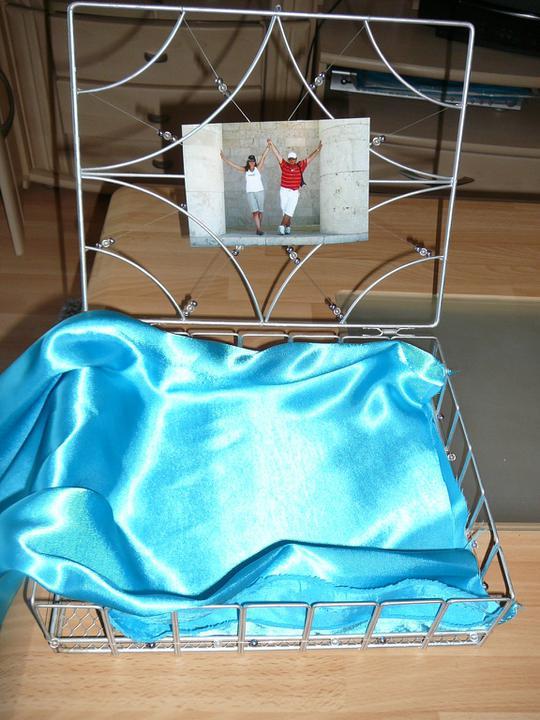 Co už máme a inspirace aneb mořská svatba - Krabička na přání - musí se ozdobit