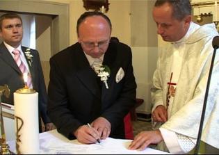 svedok nevesty Janko (krstný ocko)