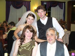 predsedkyňa svadobného výboru Monika s manželom Vlastíkom