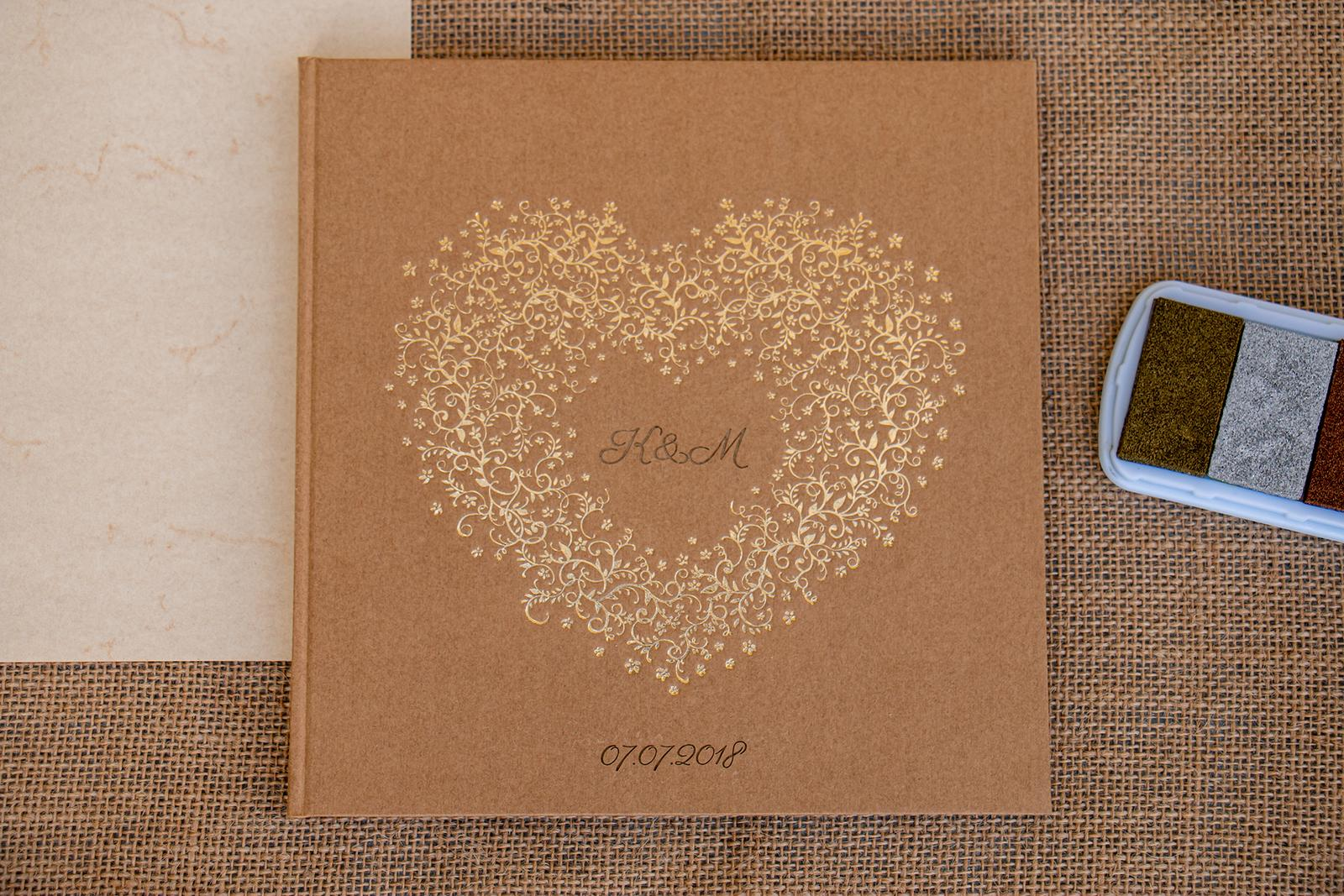 martin_patek - svatební kniha hostů s gravírováním