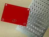 Svatební samolepky - srdíčka stříbrná 2x276 ks,