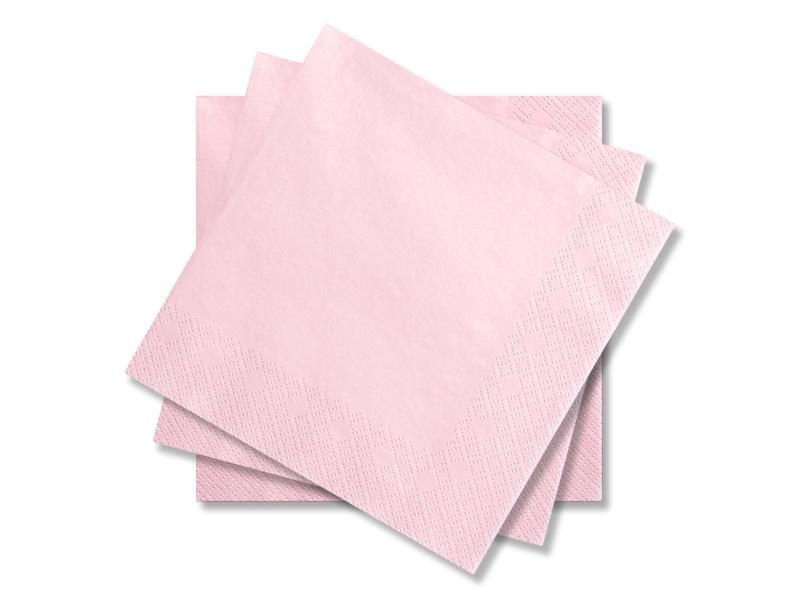 Svatební ubrousky Premium - světle růžové - Obrázek č. 1