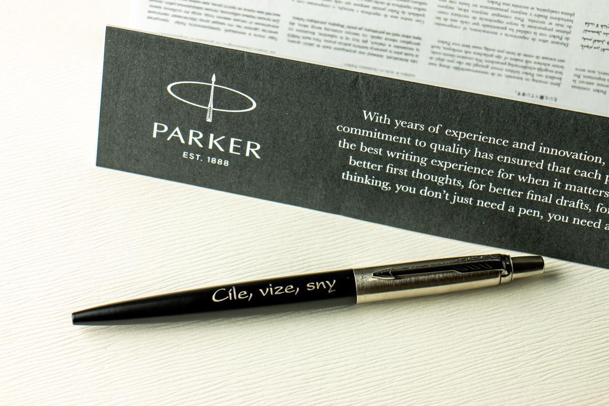 Pera Parker s věnováním - Obrázek č. 2