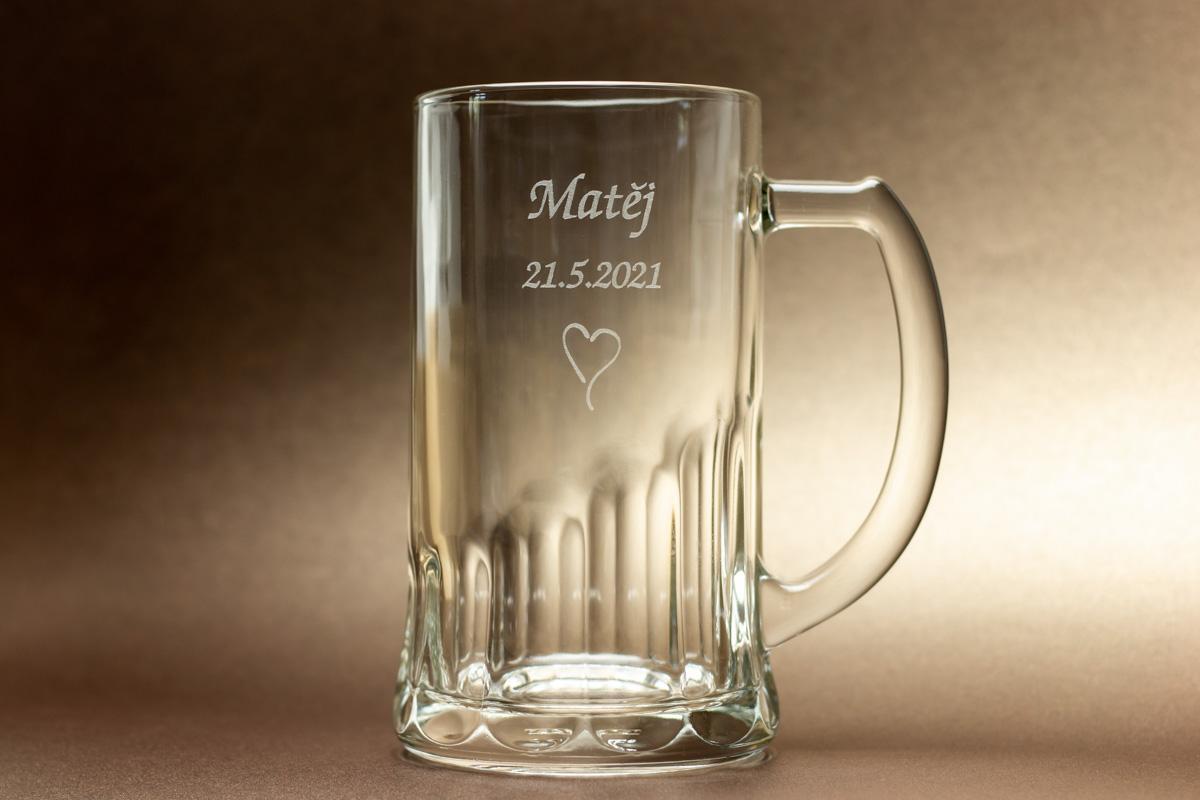 Pivní půllitr se jménem - Obrázek č. 1