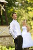Svadobná vesta - super stav, 50
