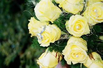 a ještě jednou svatební kytička