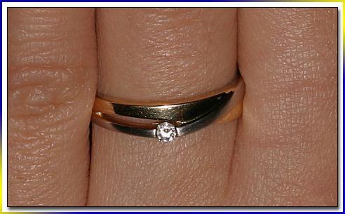 Zasnuby 24.12.2005 Verlobungsring