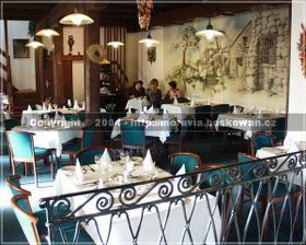 Restaurace v hotelu Restaurant im Hotel