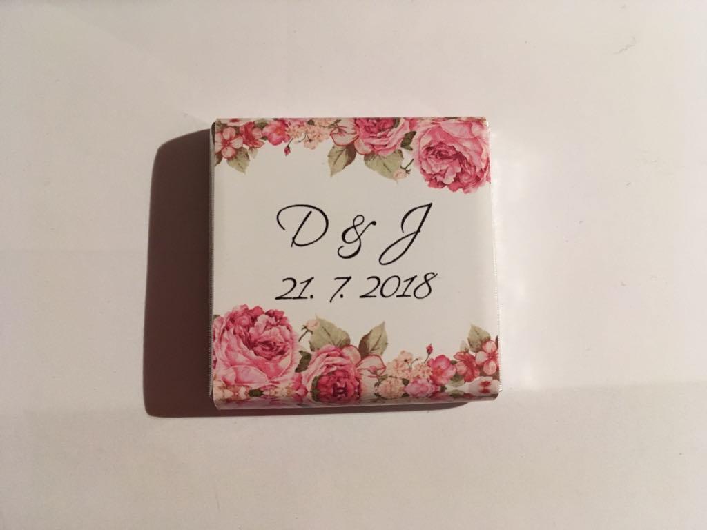 Mini čokoládky - zakázková tvorba - Obrázek č. 2