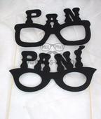 Fotorekvizity - brýle Pan a Paní,