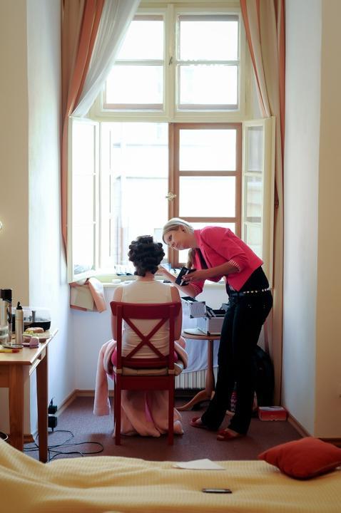 Kačenka{{_AND_}}Luboš - Líčení v zámeckém apartmánu se skvělou Romčou Čížkovou