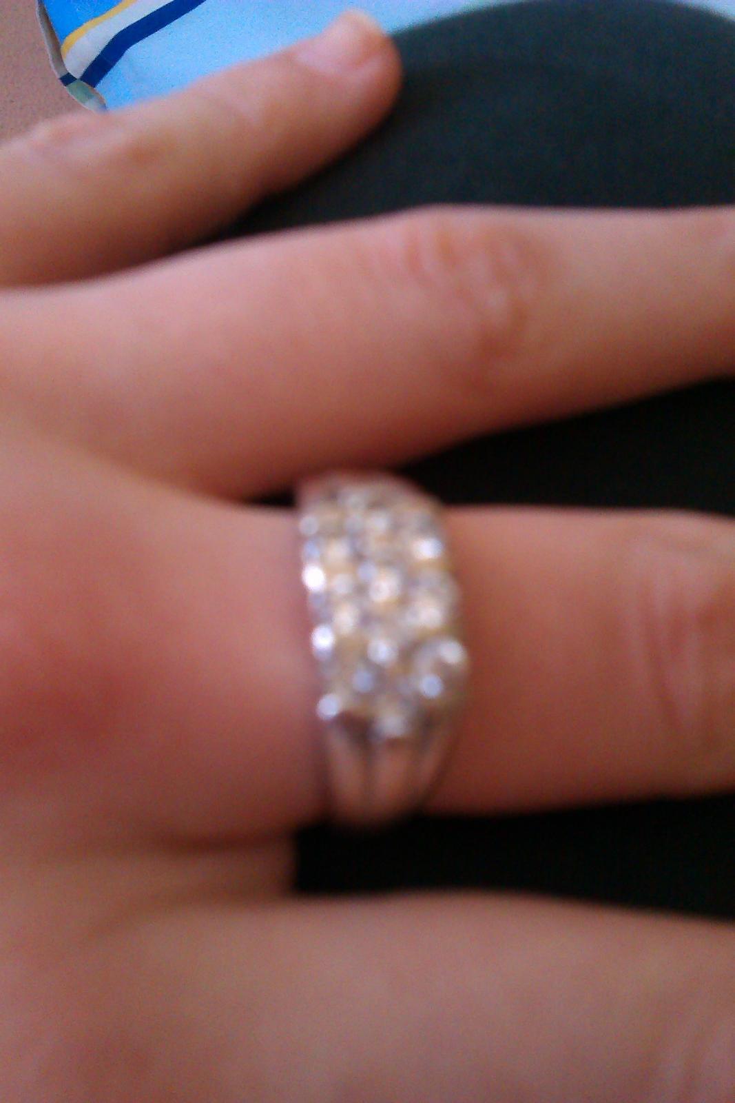 Strieborný prsteň - Obrázok č. 2
