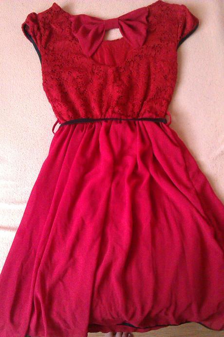 Spoločenské šaty S/M - Obrázok č. 1