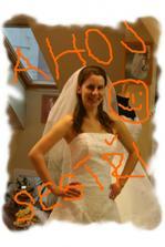 I moje sestřička žije svatbou ( hračička) :-)