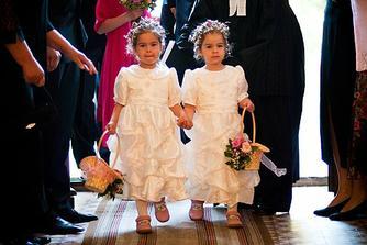 Nase krstne dcerky - Eliska a Beatka