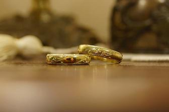 Na zakázku vyrobené snubní prsteny jsou konečně také doma :-)