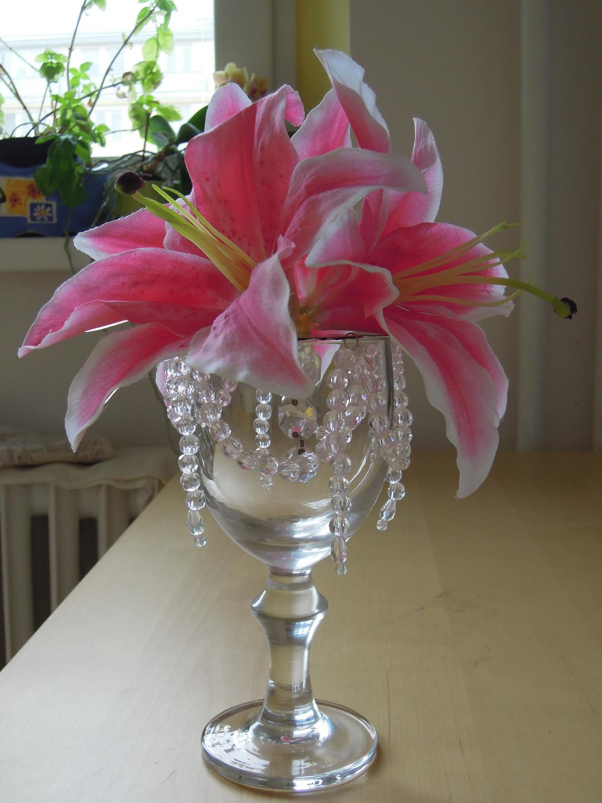 Pomaly zbieram... - Finalny vyzor velkej dekoracie na stol :-)