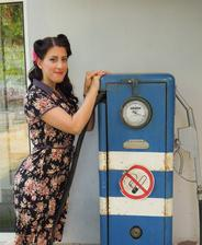 Vintage pin-up uces v mojom podani :-)
