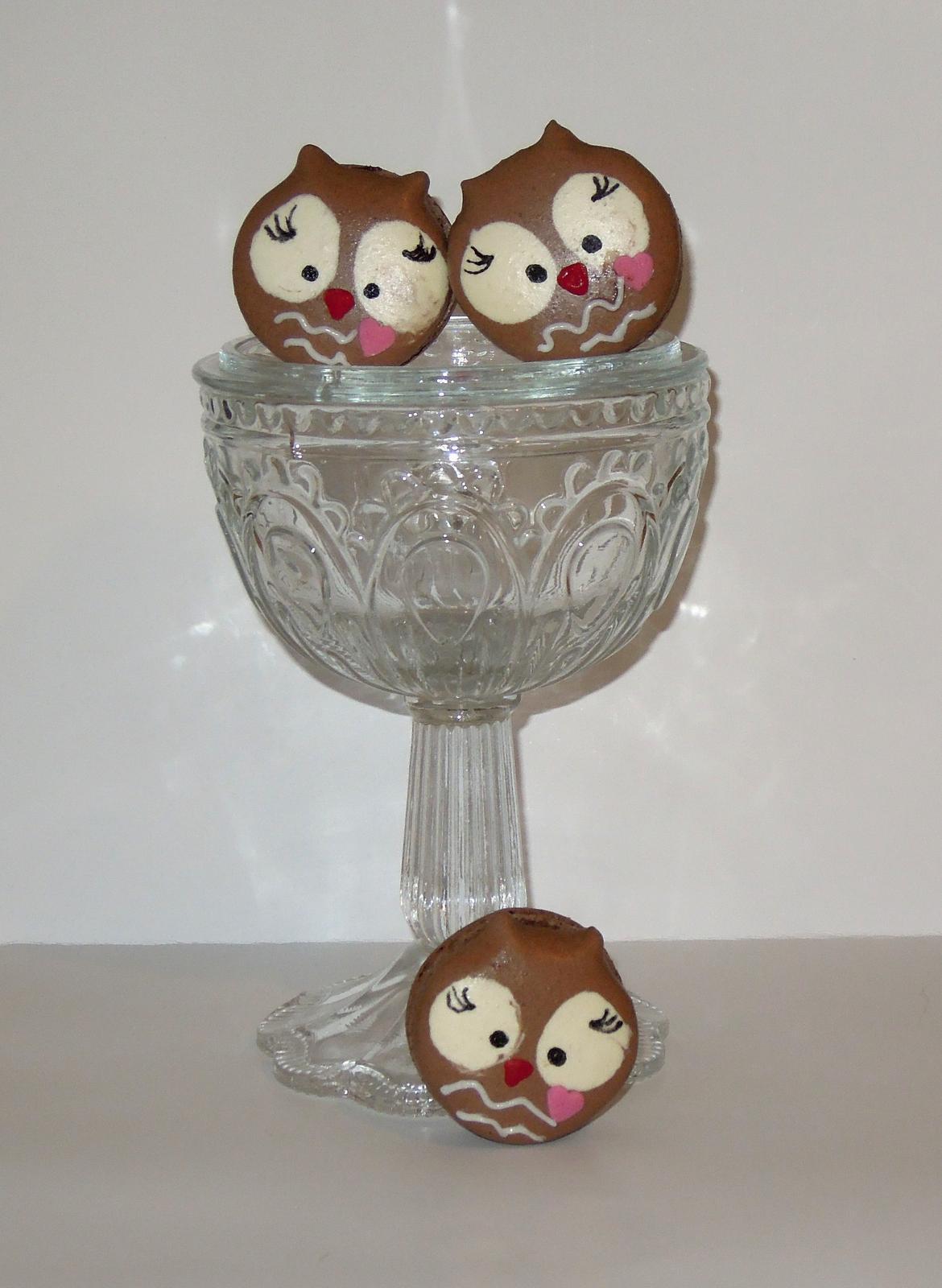 Macarons - Sovicky urobene na poziadavku :-)
