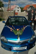 Naše autíčko!