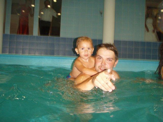 Anna Dunajcikova{{_AND_}}Lubomir Vojtek - kupanie pred polnocou :)